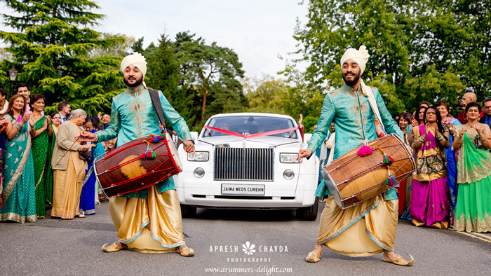 Dhol-Players-Copthorne-Hotel-JC