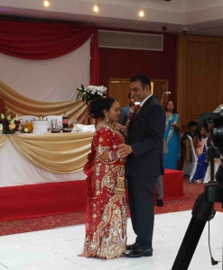 Drummers Delight Dhol Players London at Baylis House - First Dance