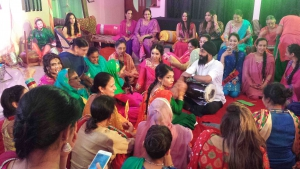 Dhol players London perform at Hernoors Sangeet Night