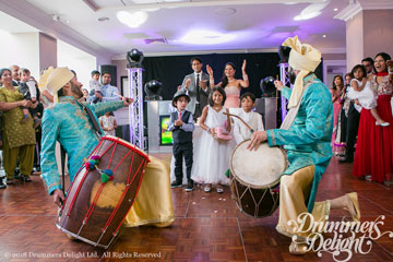 Dhol Players Reception Entrance