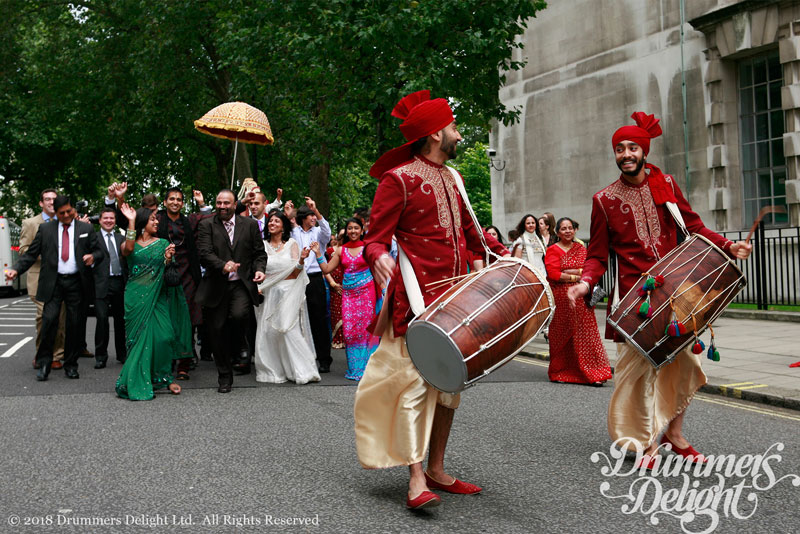 Dhol Players • Drummers Delight