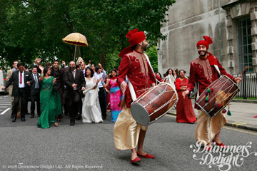 Dhol Players for Groom Procession